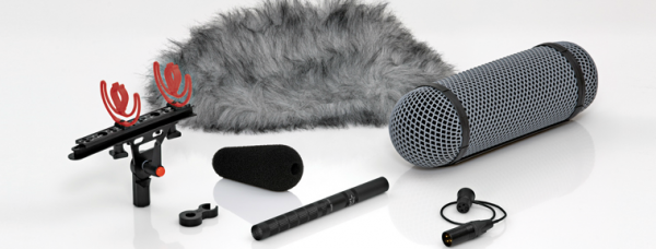 4017B-R Shotgun Microphone w. Rycote Windshield