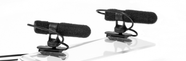 4081 Miniature Super Cardioid Microphone, Black
