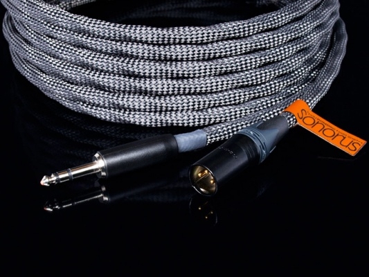 Non-shielded Balanced Cable VOVOX sonorus direct XLR female/TRS100 cm