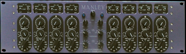 Mastering Version Massive Passive Stereo EQ