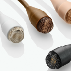 4063 Miniature Omnidirectional Microphone, Lo-Sens & DC, Black