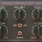 Stereo Variable Mu Limiter Compressor