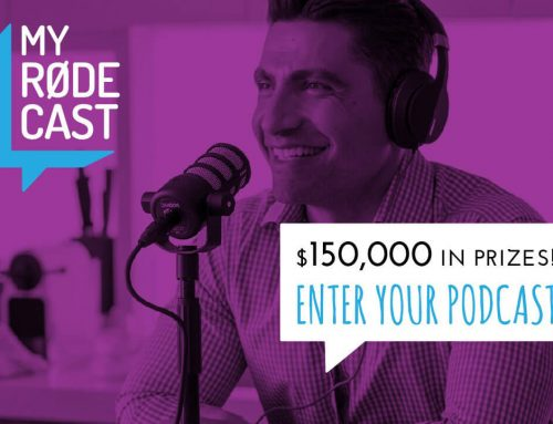 Calling all podcasters!  RØDE microphones launches all-new podcasting competition – My RØDE cast