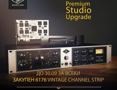 HOT Universal Audio Promo: Free UAD-2 OCTO DSP Accelerator When You Buy a 6176 Vintage Channel Strip!