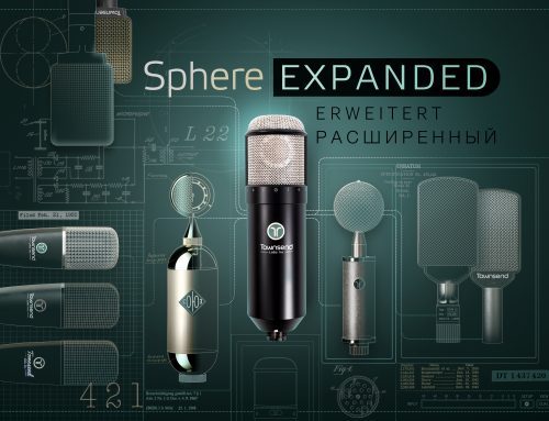 Townsend Labs Sphere L22 с емулация на 10 нови микрофона!