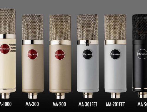 Запознайте се с новата визия на микрофоните на Mojave